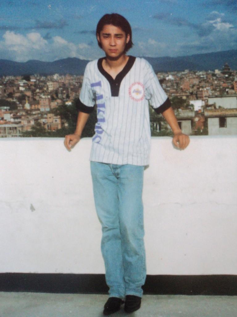 Chhewang als Jugendlicher