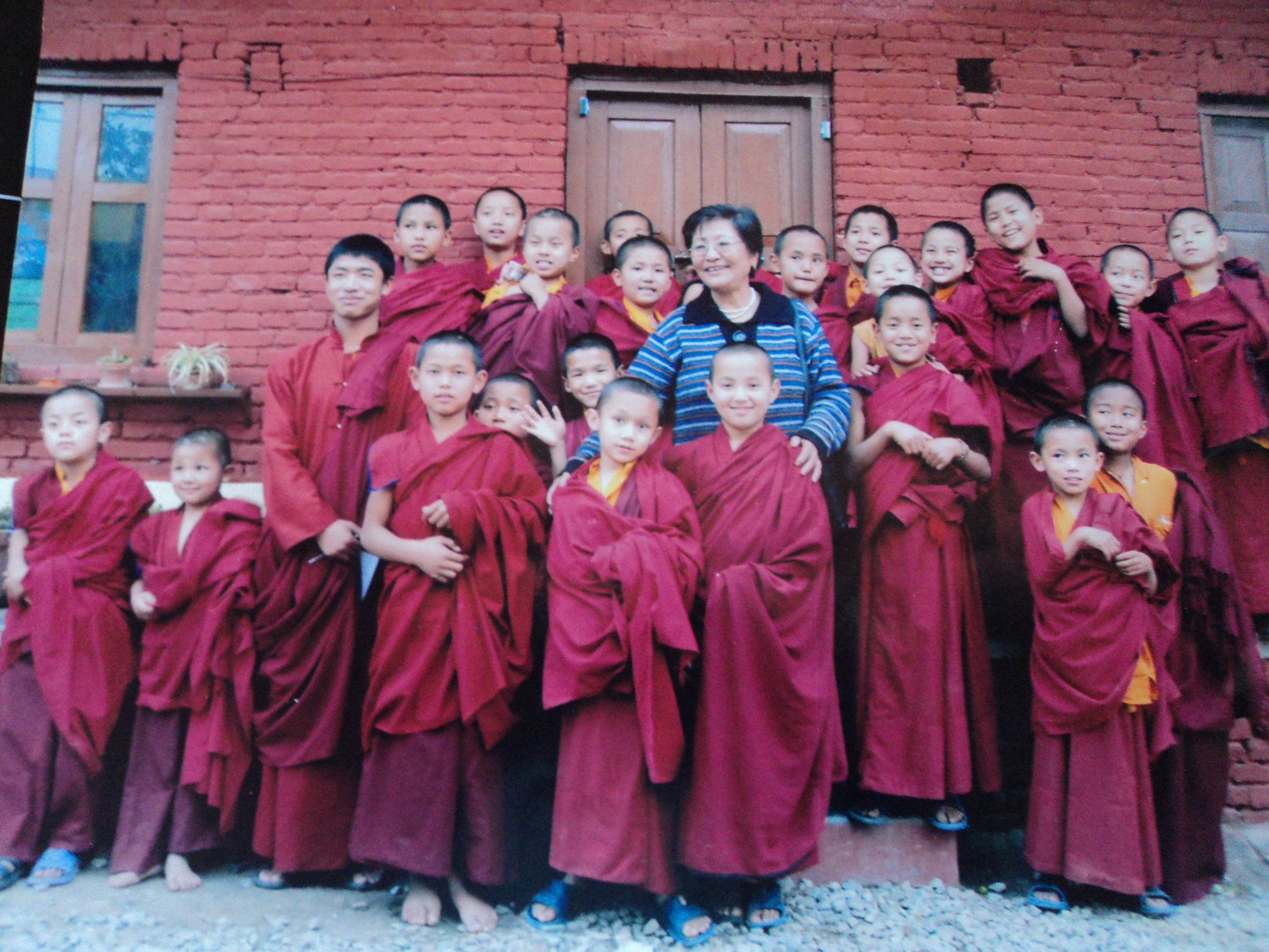 Mini Monks is one of Doma's aid projects