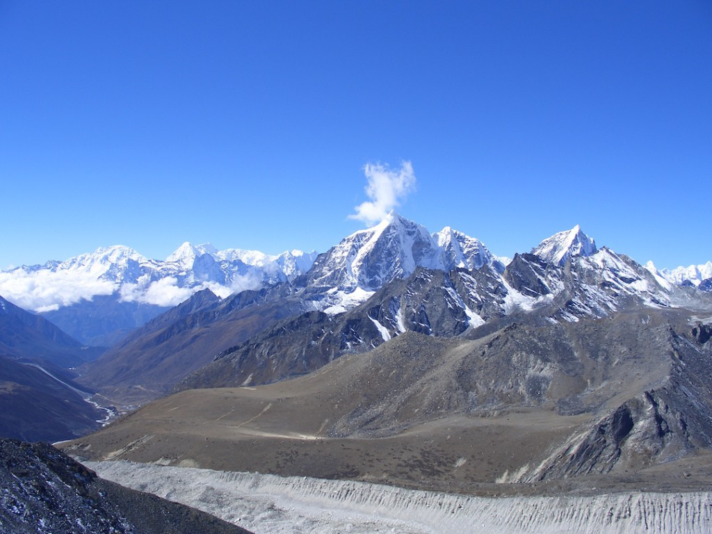 Summits in the Khumbu Valley