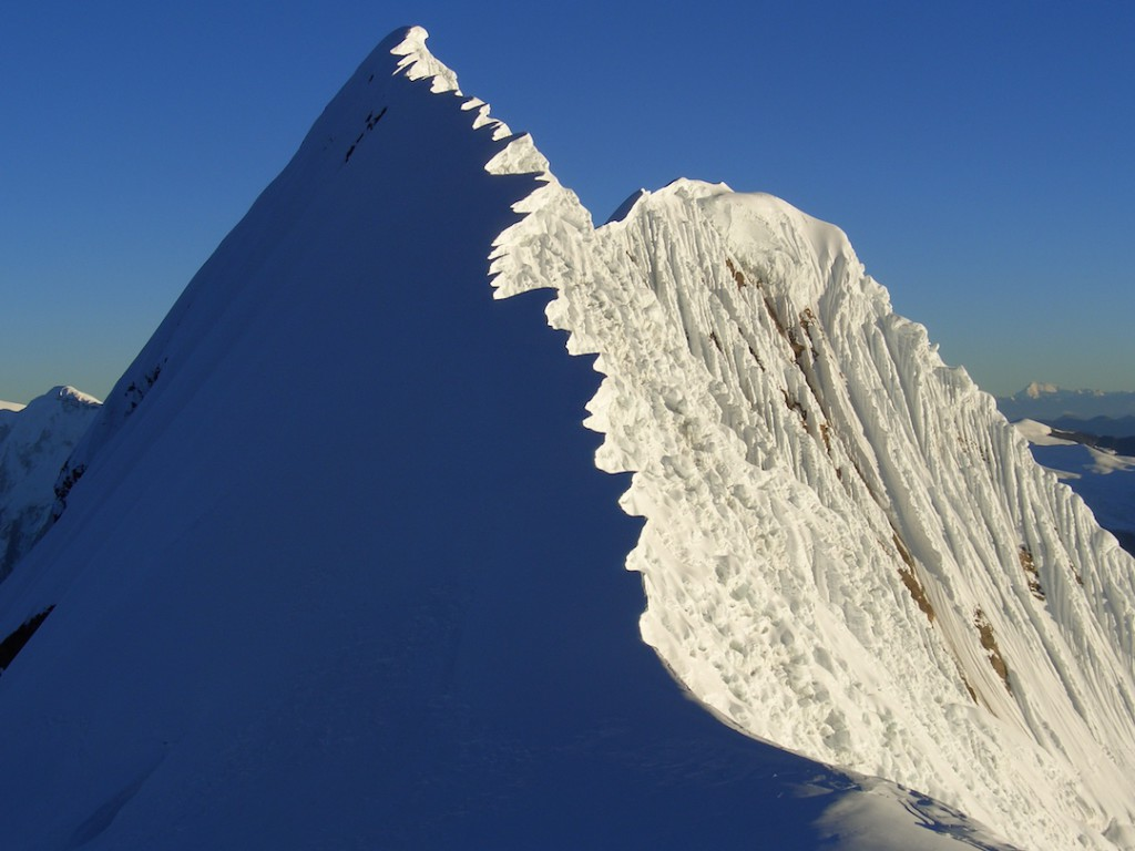 Summit in Manaslu area