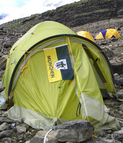 My tent in Manaslu BC at 4850m