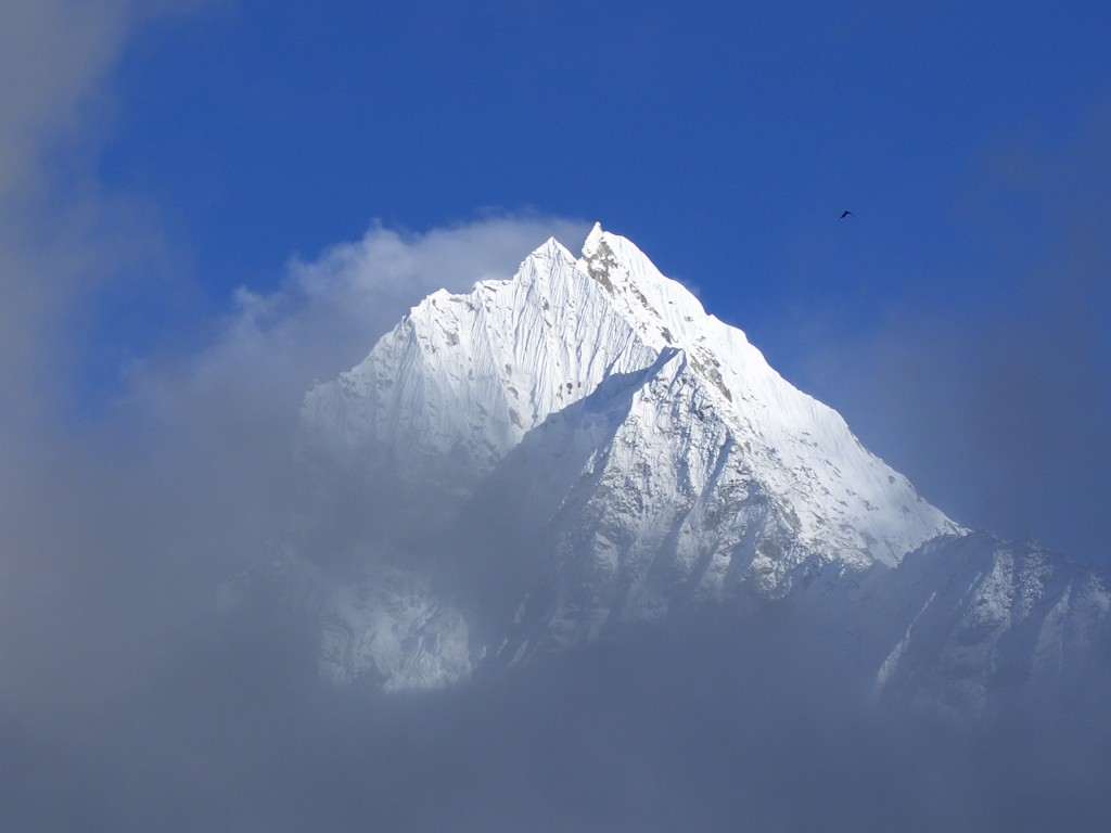 Thamserku 6618m in Khumbu Valley
