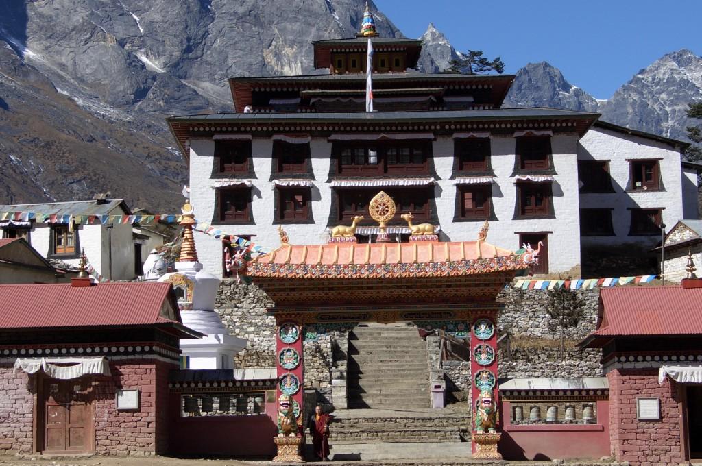 Das Kloster in Tengboche