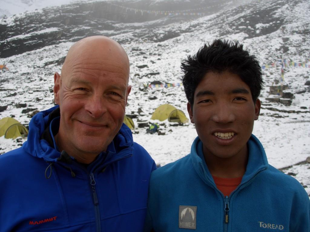 Urken Lundrup Sherpa, der Andreas 2012 auf den Gipfel des Manaslu 8165m begleitet hat