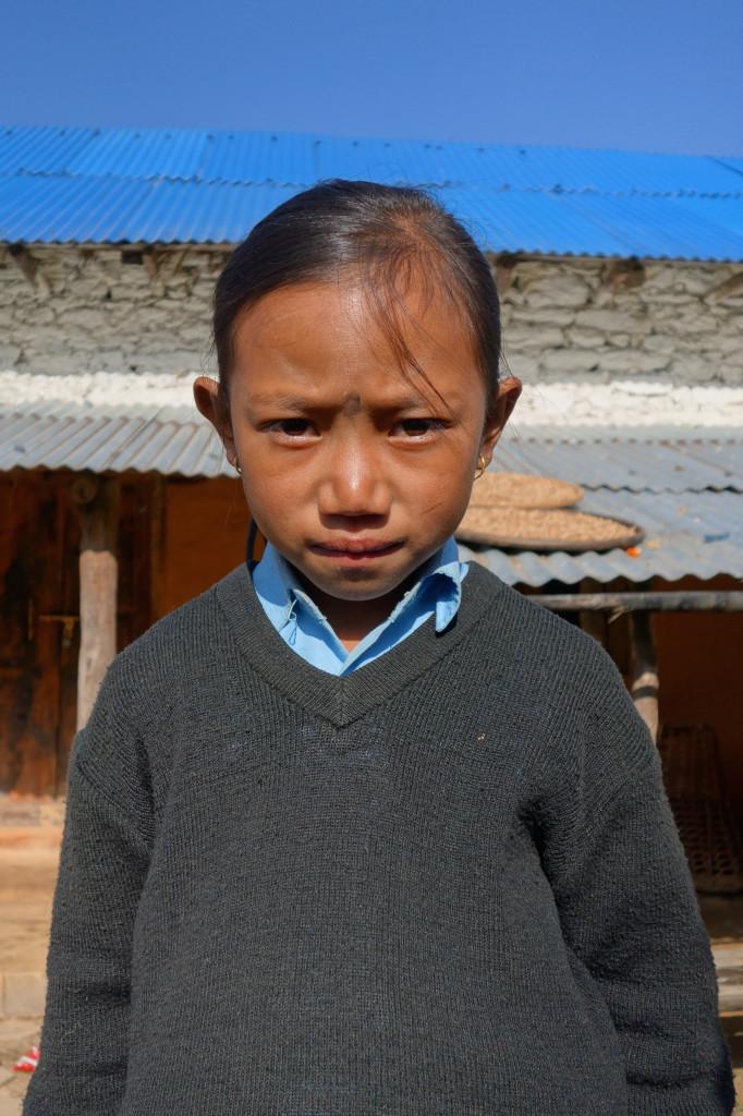 Salina Tamang, 8 Jahre