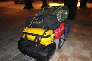 Kit bags ready